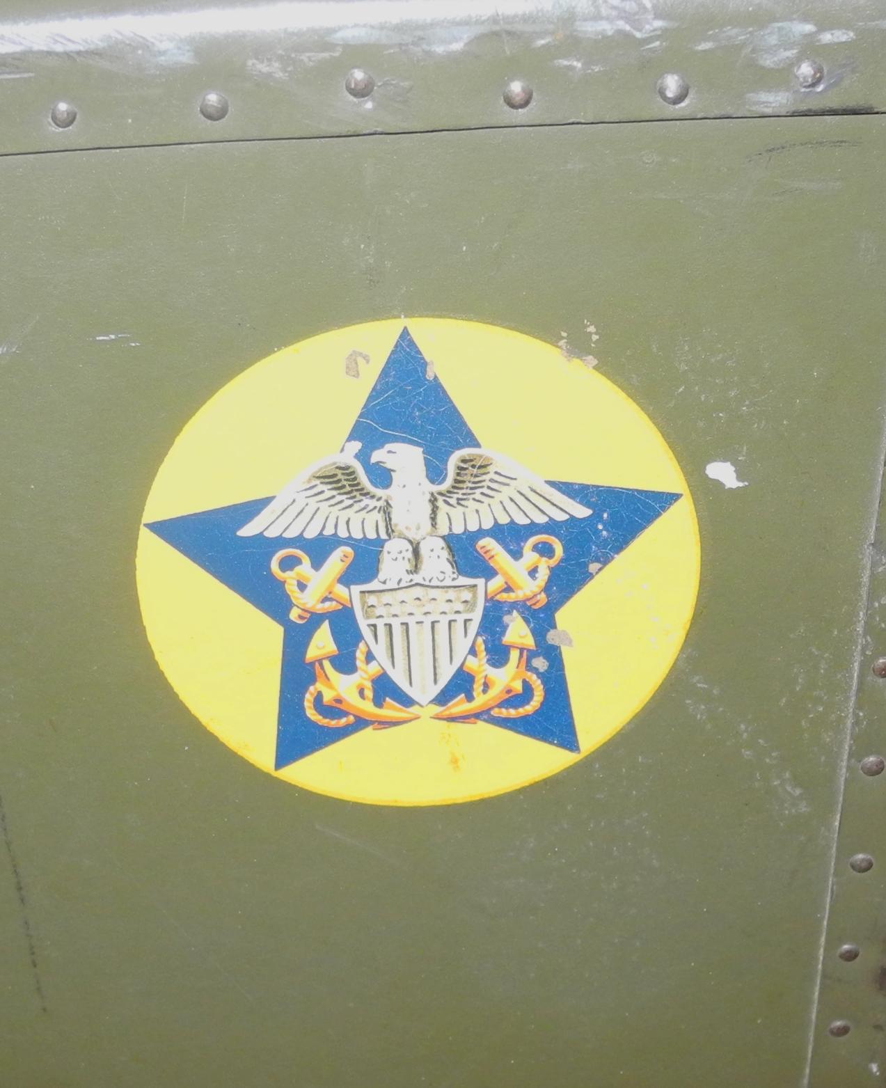 WWII US Navy locker / case