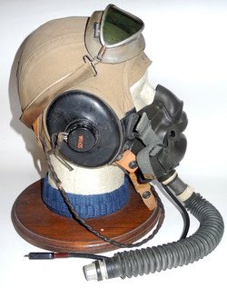 Corsair test pilot headgear
