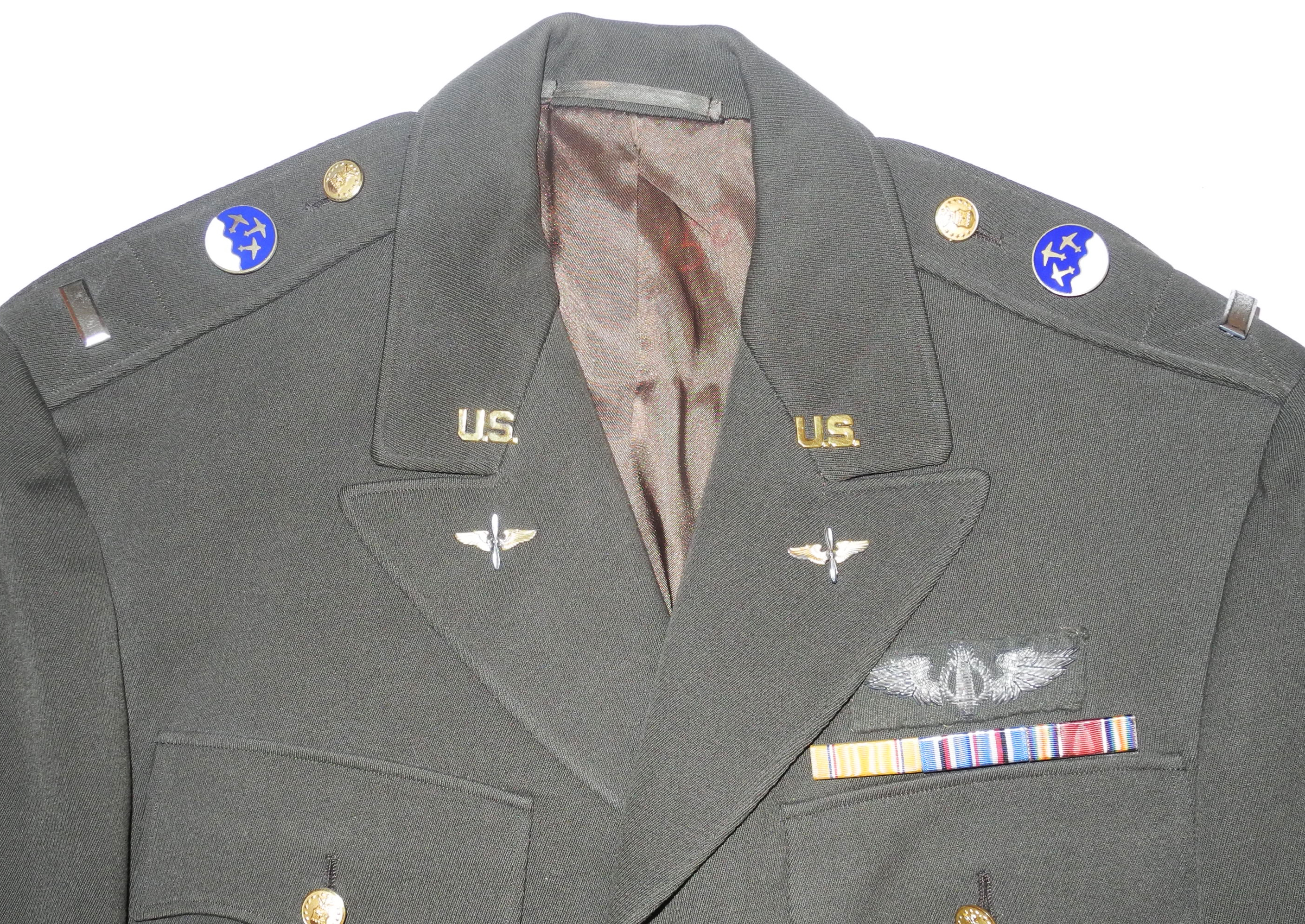 USAF transitional officer green tunic 12 Recon Squad