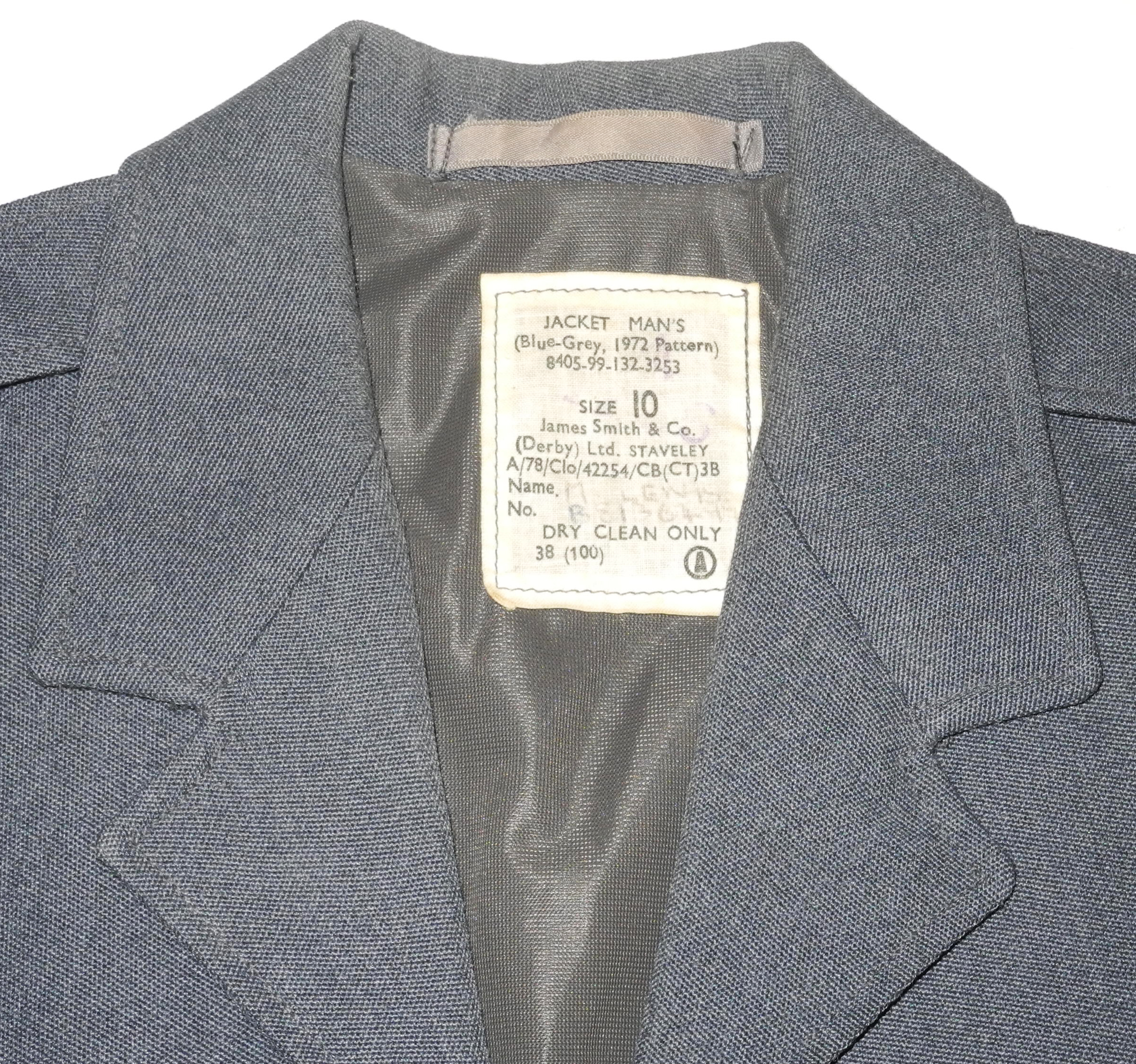 RAF 1972 pattern other ranks short jacket