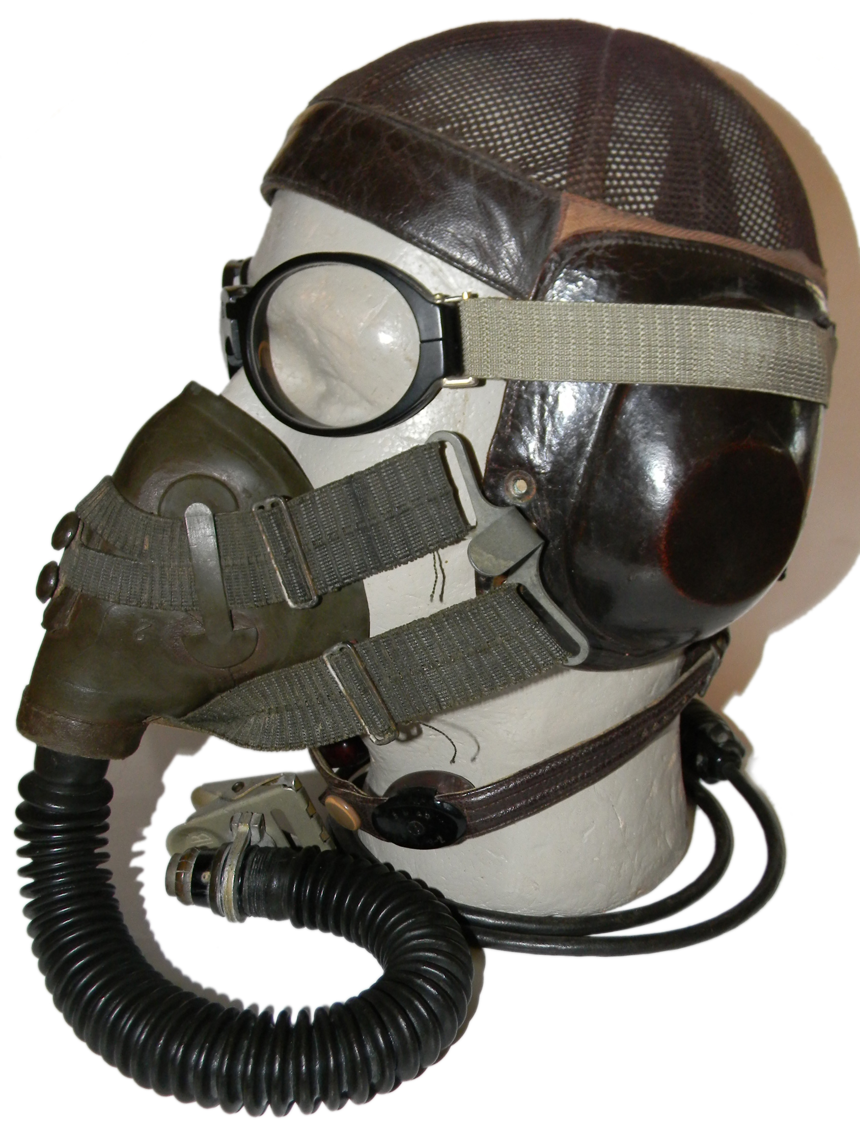 Luftwaffe fighter pilot headgear
