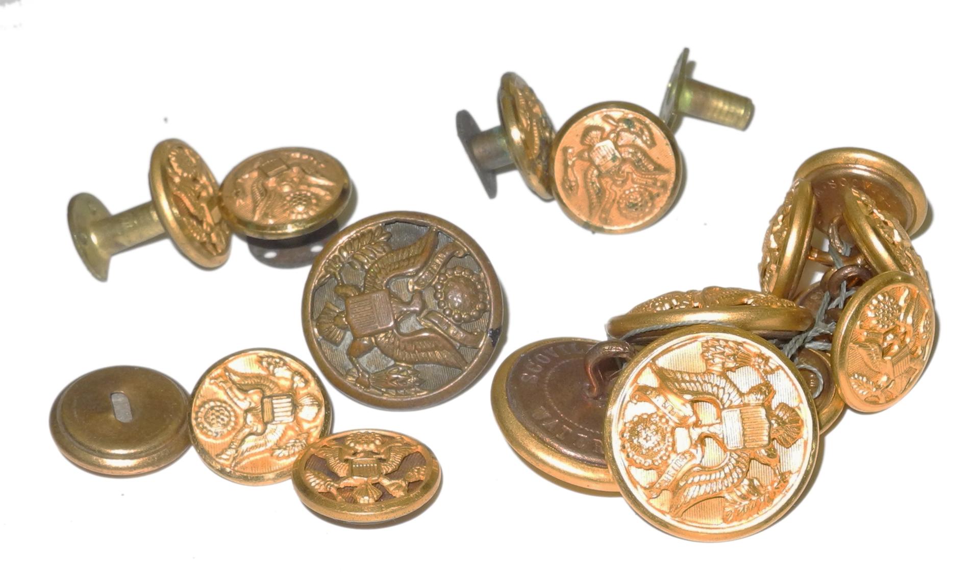 AAF buttons (various)