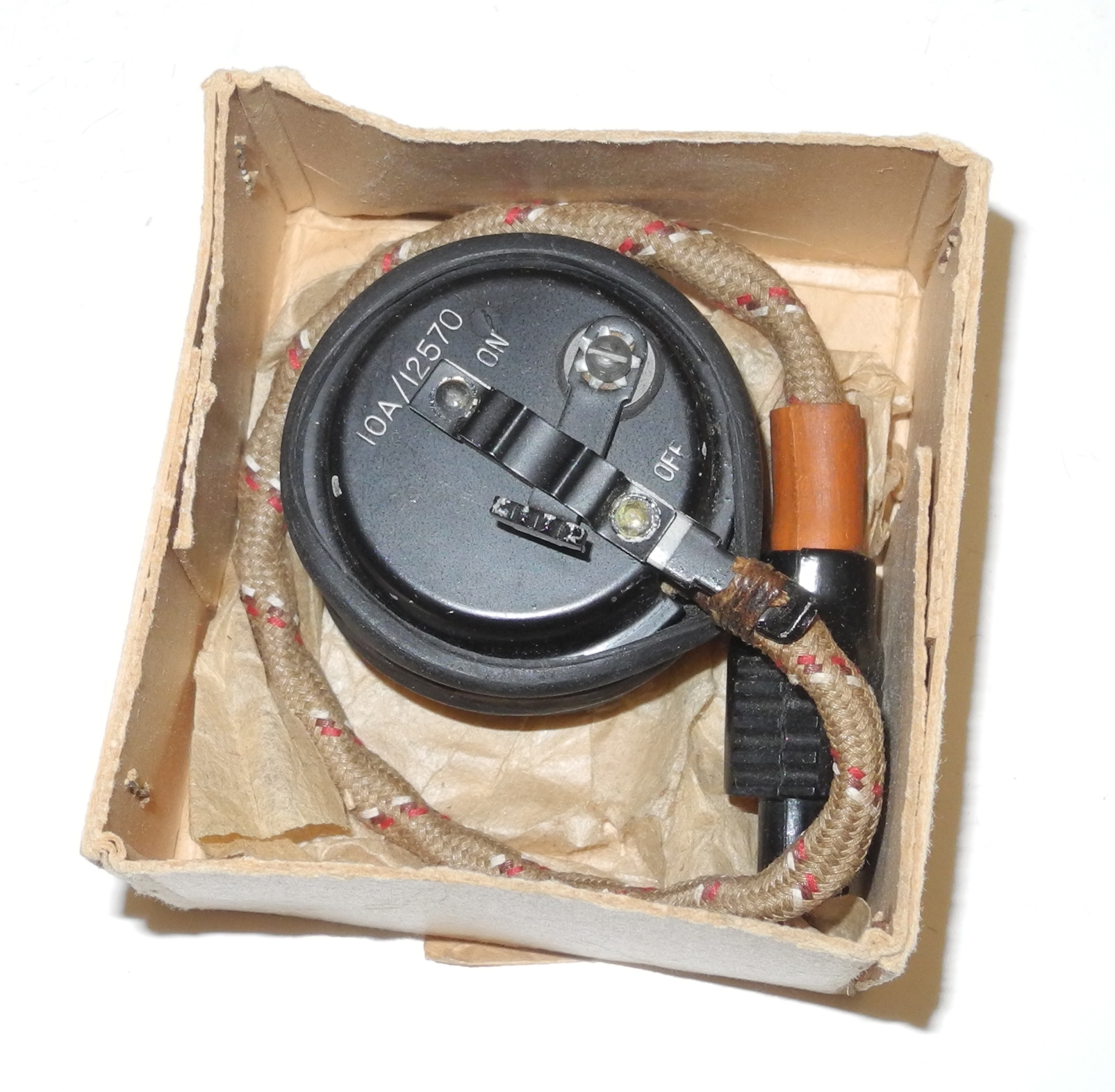 RAF Type 48 microphone boxed, unissued