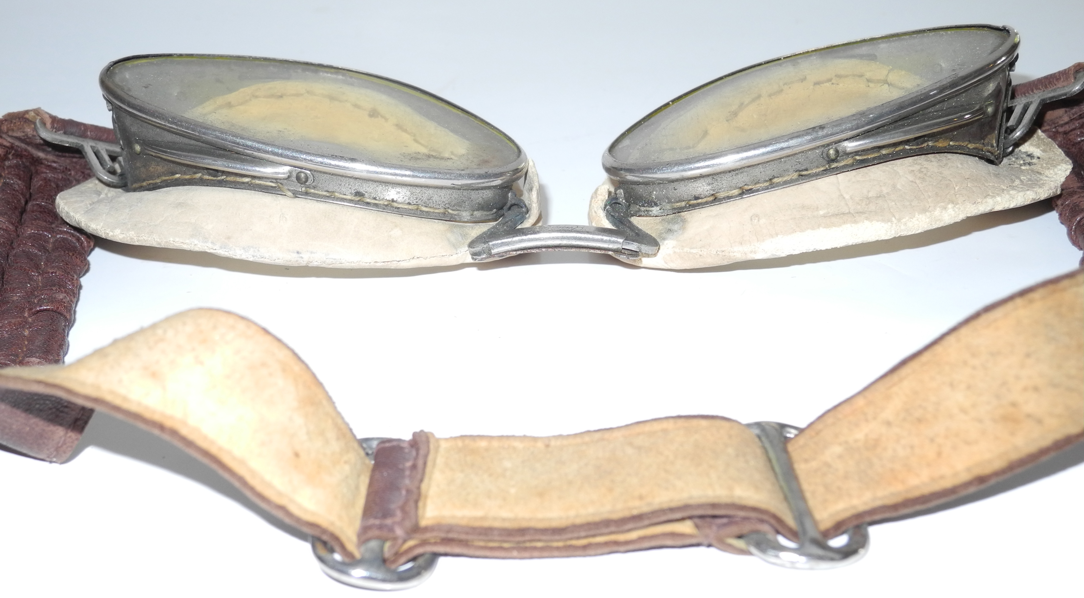 Battle of Britain RAF used Lewis flying goggles