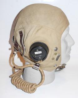RAF Type D flying helmet with internal wiring, neck-flap removedDSCN1367