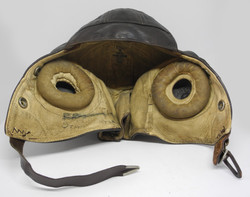 RAF TYpe B helmet size 3 Frank Bryan