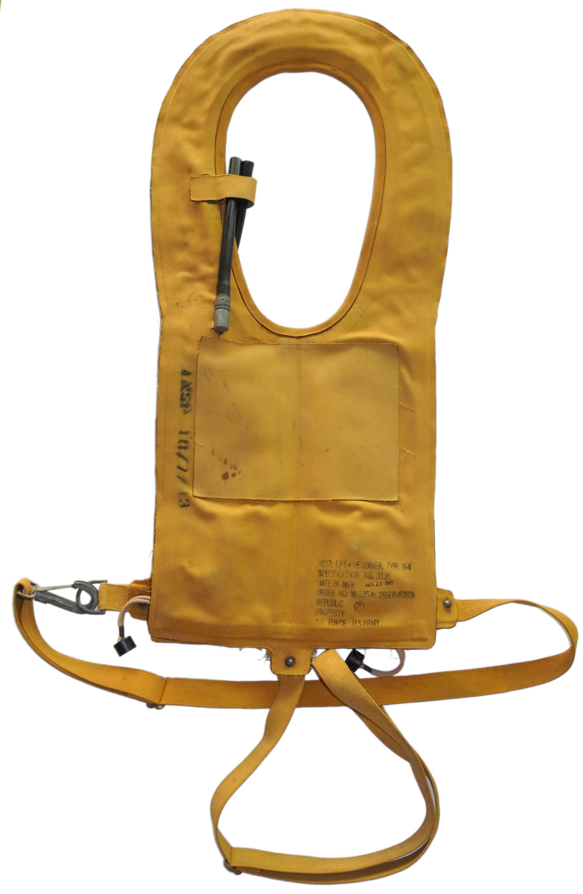 AAF Type B-4 life vest