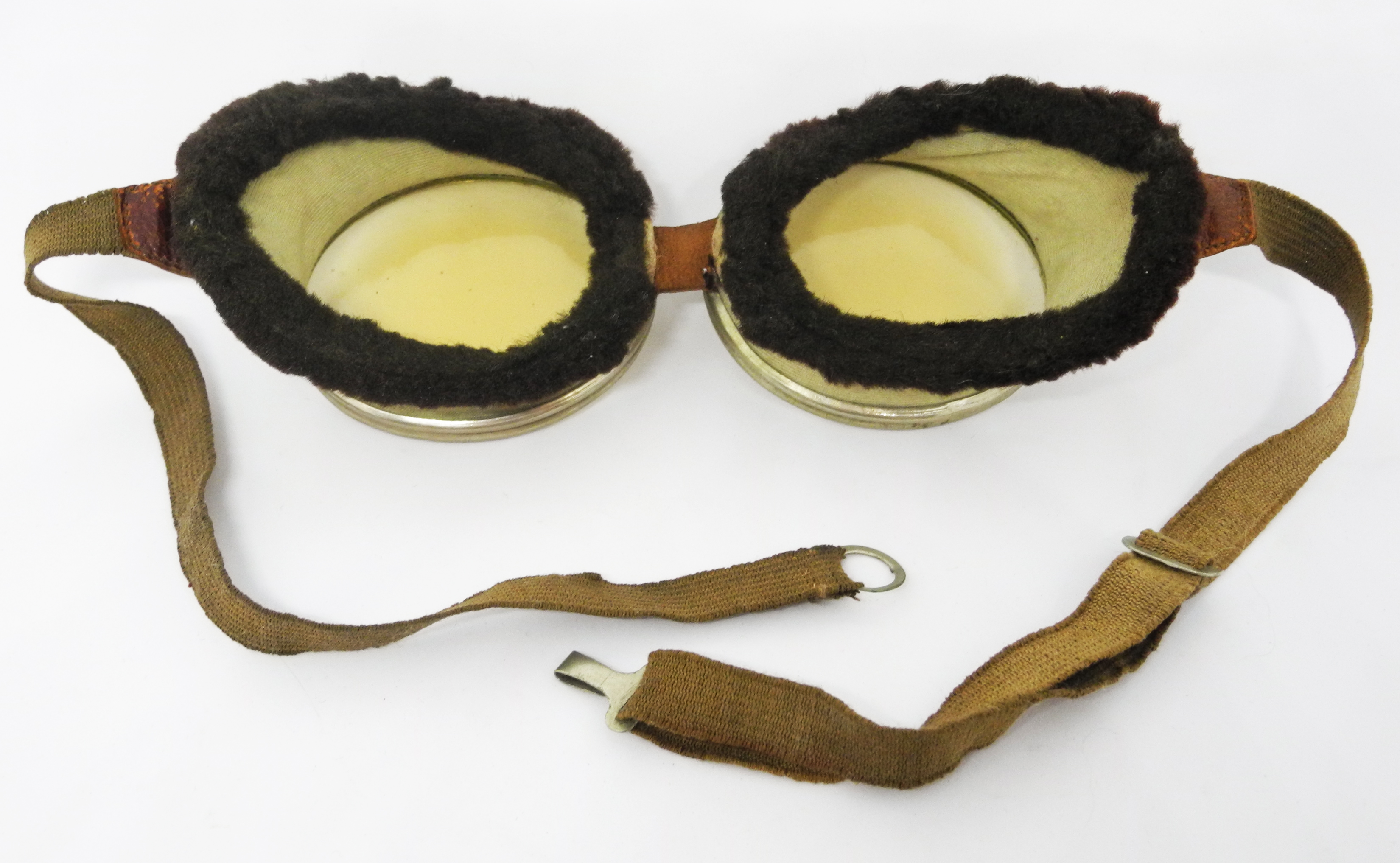 RFC Triplex flying goggles + case