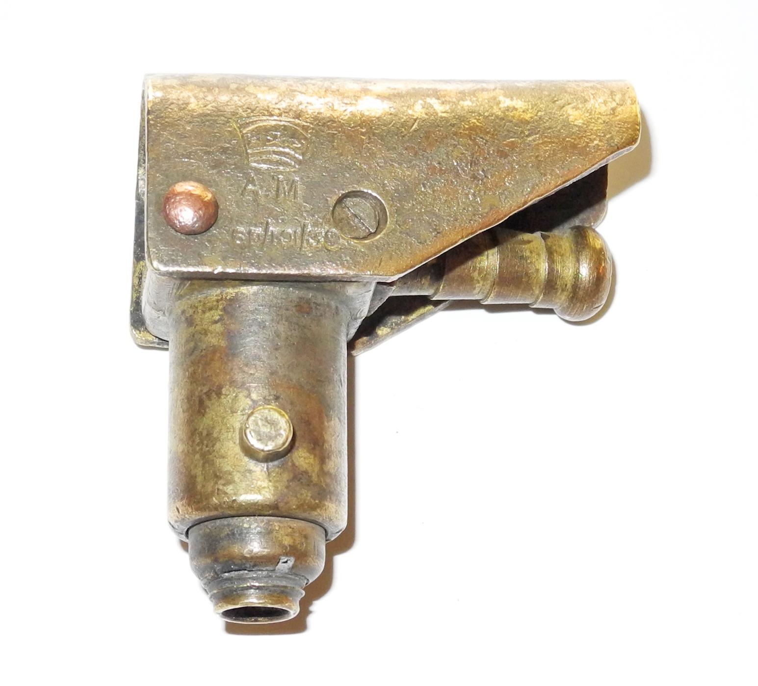RAF Mk IIIa Bayonet Connector for Type D oxygen mask