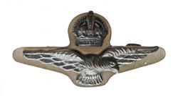 RAAF officer's side cap badge