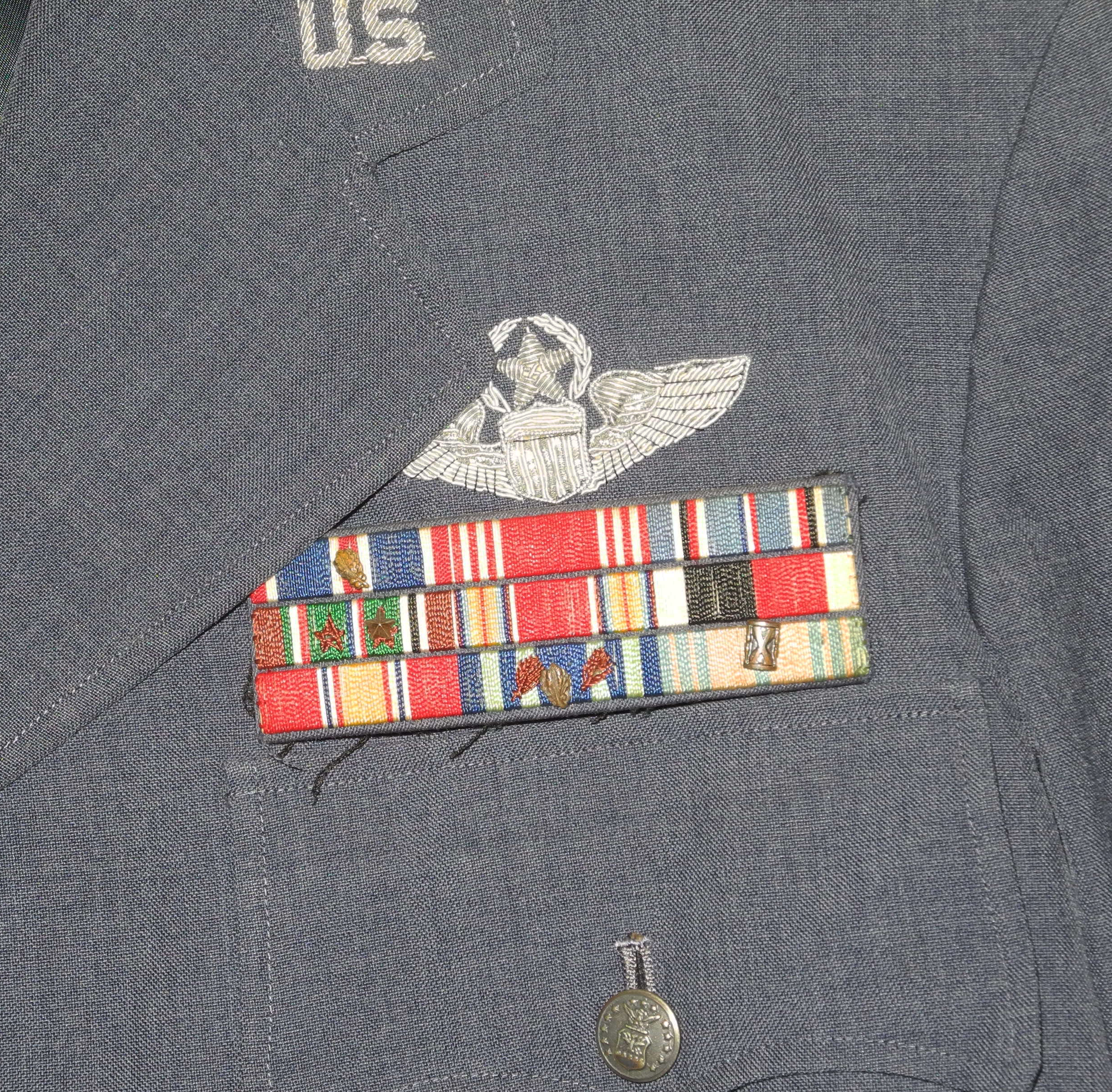 USAF Brigadier General's uniform jacket named and dated 1961