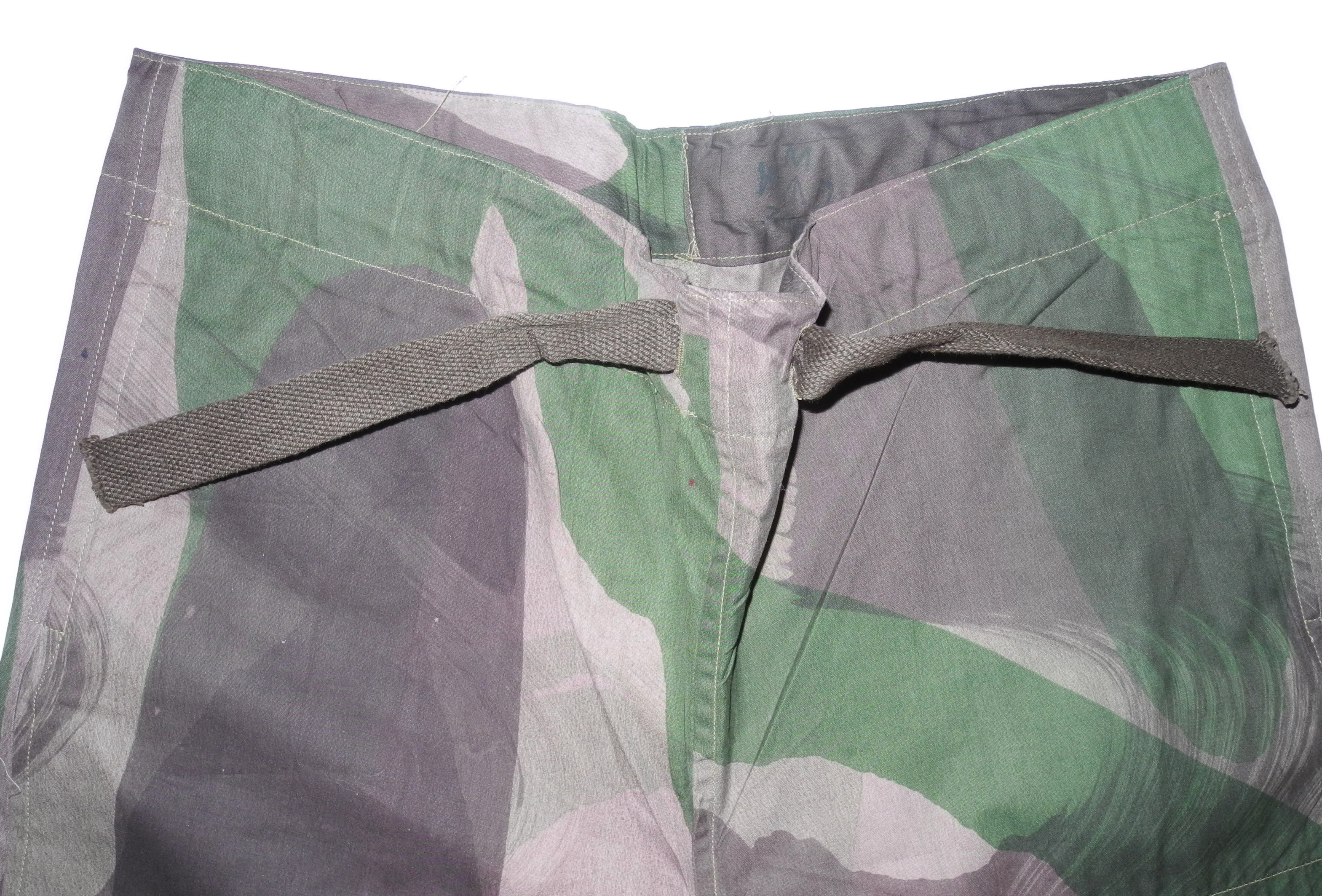 SAS Windproof trousers dated 1943