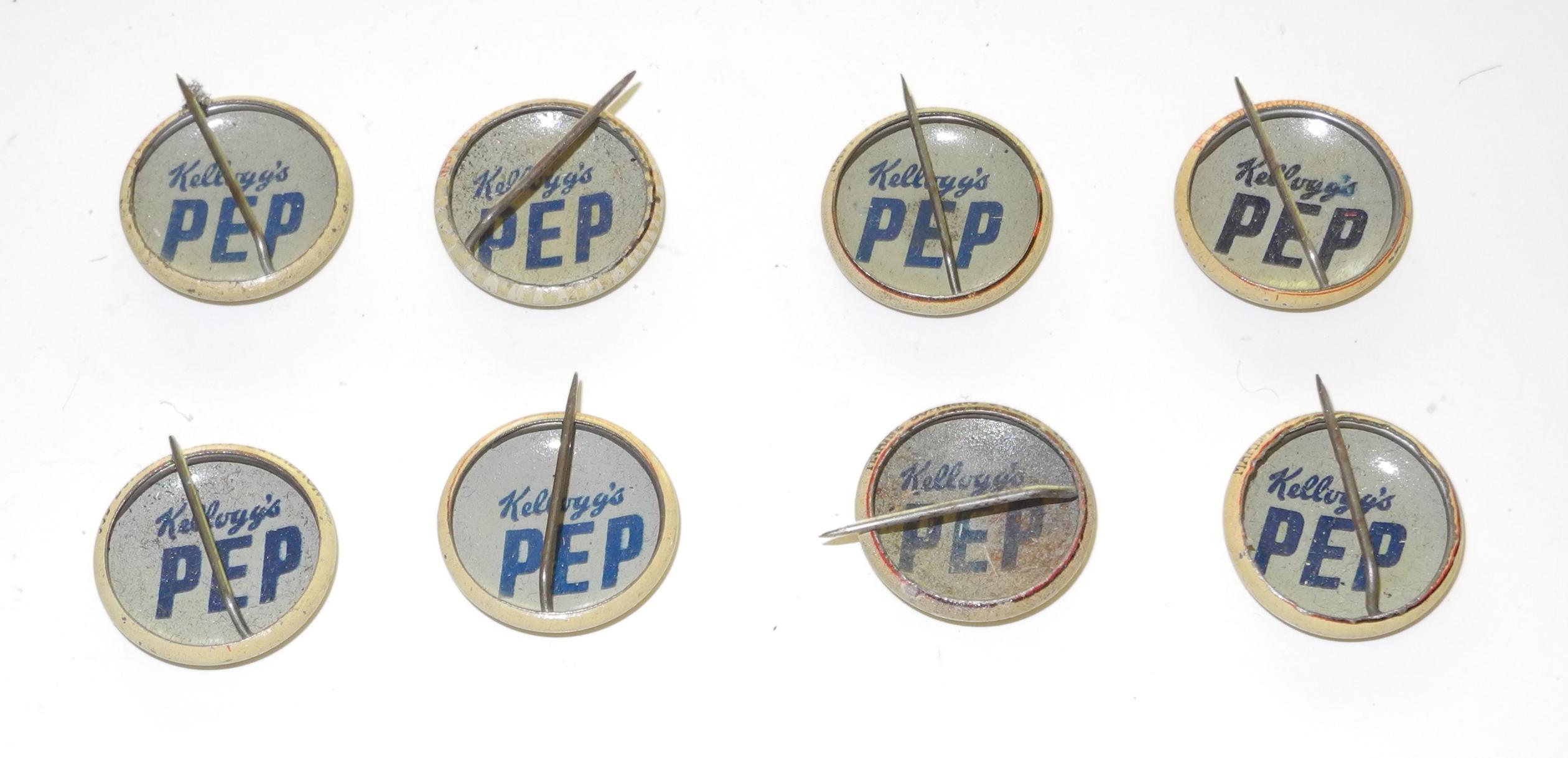 WWI Kelloggs PEP badges $55