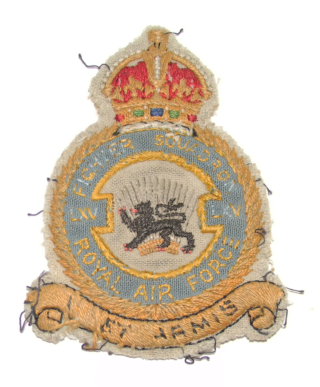 RAF 65 Squadron Prestige Suit Badge