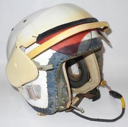 DSCN9558RAF MK 2A bone-dome jet helmet with Type P oxygen mask,  complete in transit case