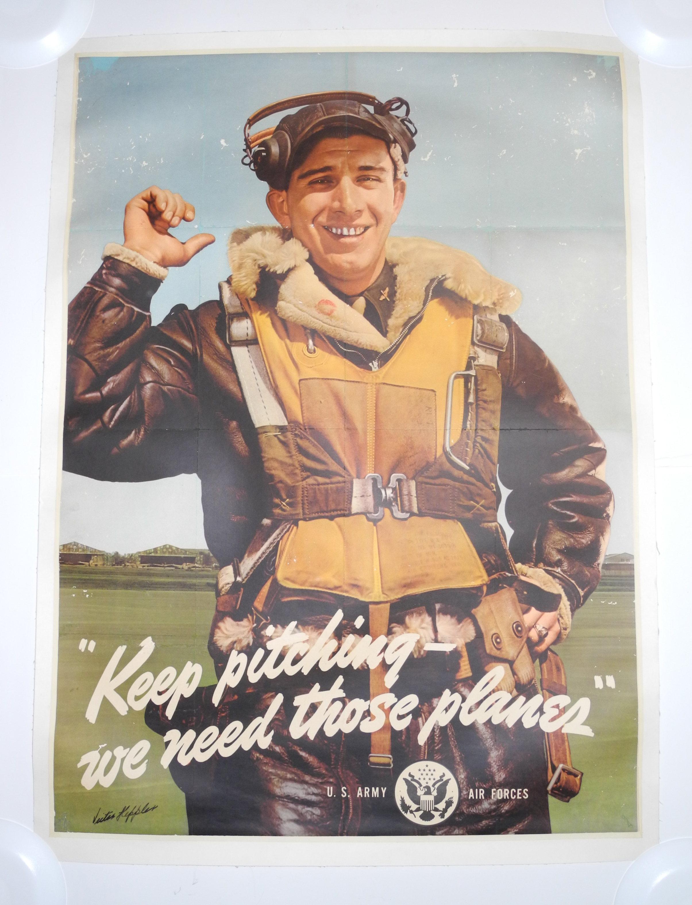 AAF war Bond poster  Victor Keppler