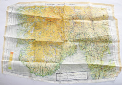 McCarthy Dambuster signed escape map