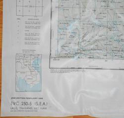 USAF Vietnam Excape/Evasion Chart