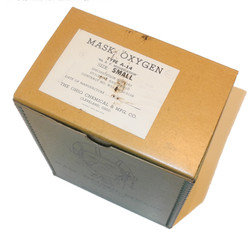 AAF A-14 oxygen mask in box unissued