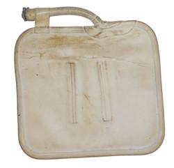 RAF survival kit rubber water bottle