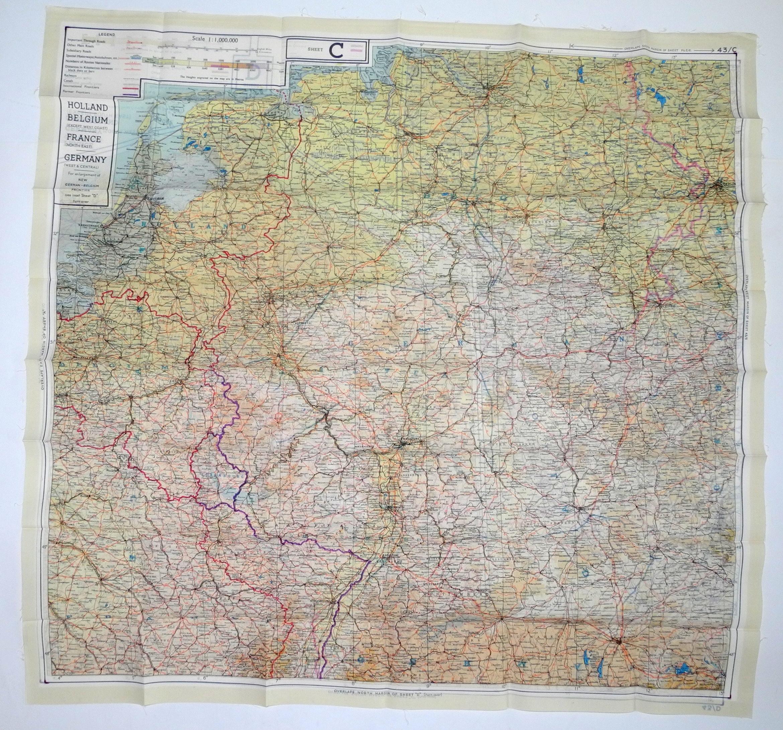 RAF MI9 Escape map, 43 series C/D