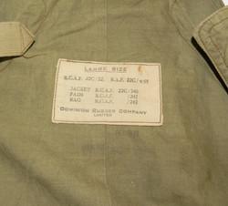RCAF / RAF 1932 pattern mae west