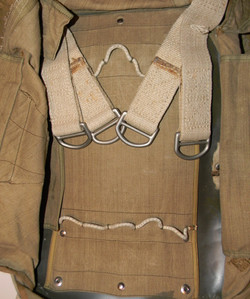 LW back pack parachute + bag