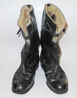 RAF 1936 Pattern Flying Boots named and dated 1937 size 8