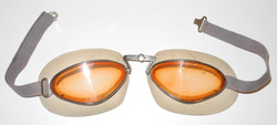 Pre-WWII French flying goggles