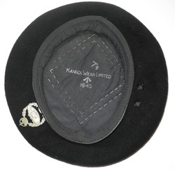 WWII Royal Tank Regiment beret dated 1945