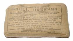 RAAF First Aid Shell Dressing