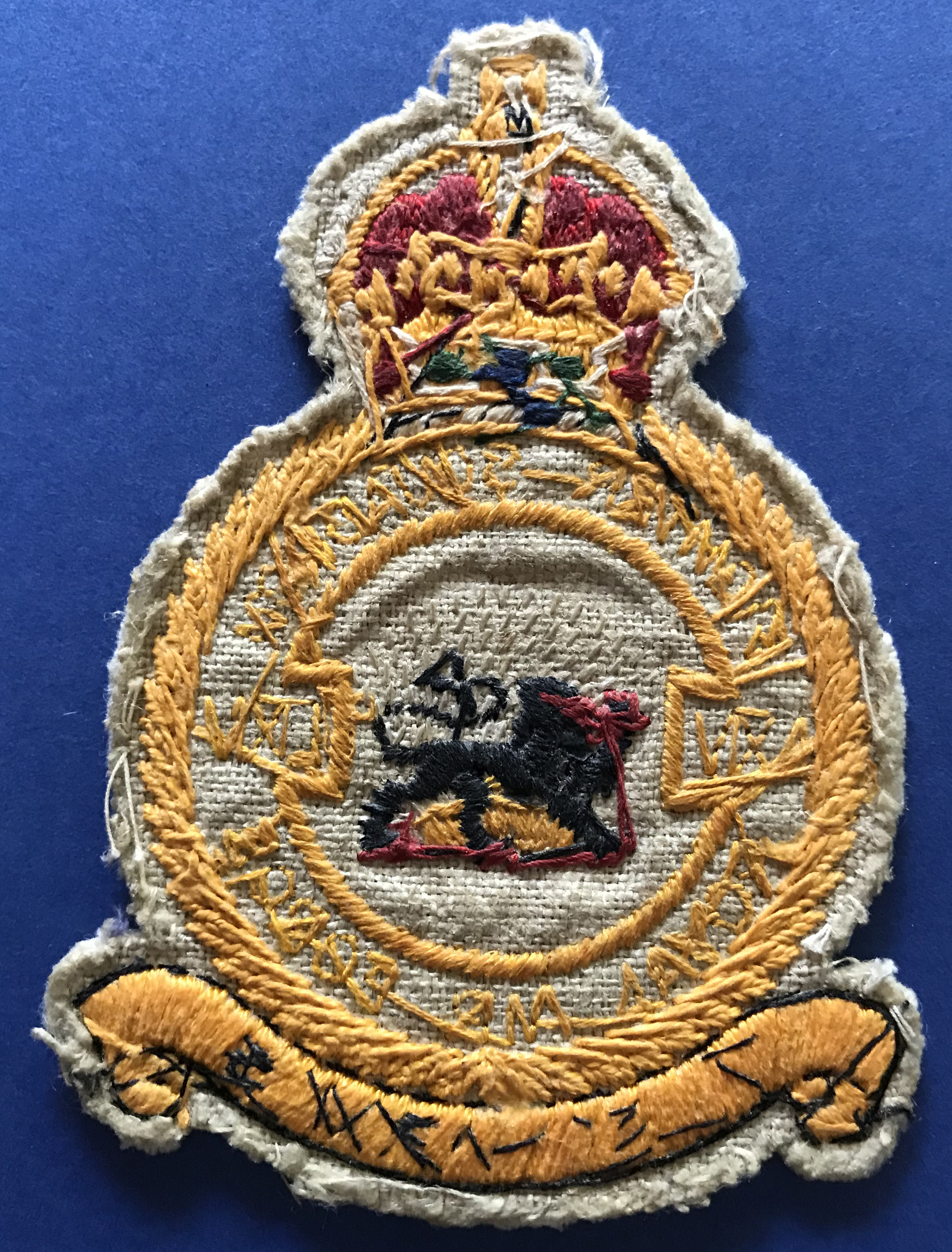 RAF prestige suit patch, 65 squadron
