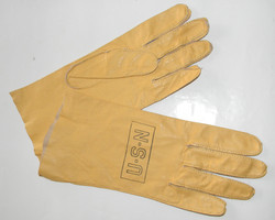 WWII USN B-3 flying gloves