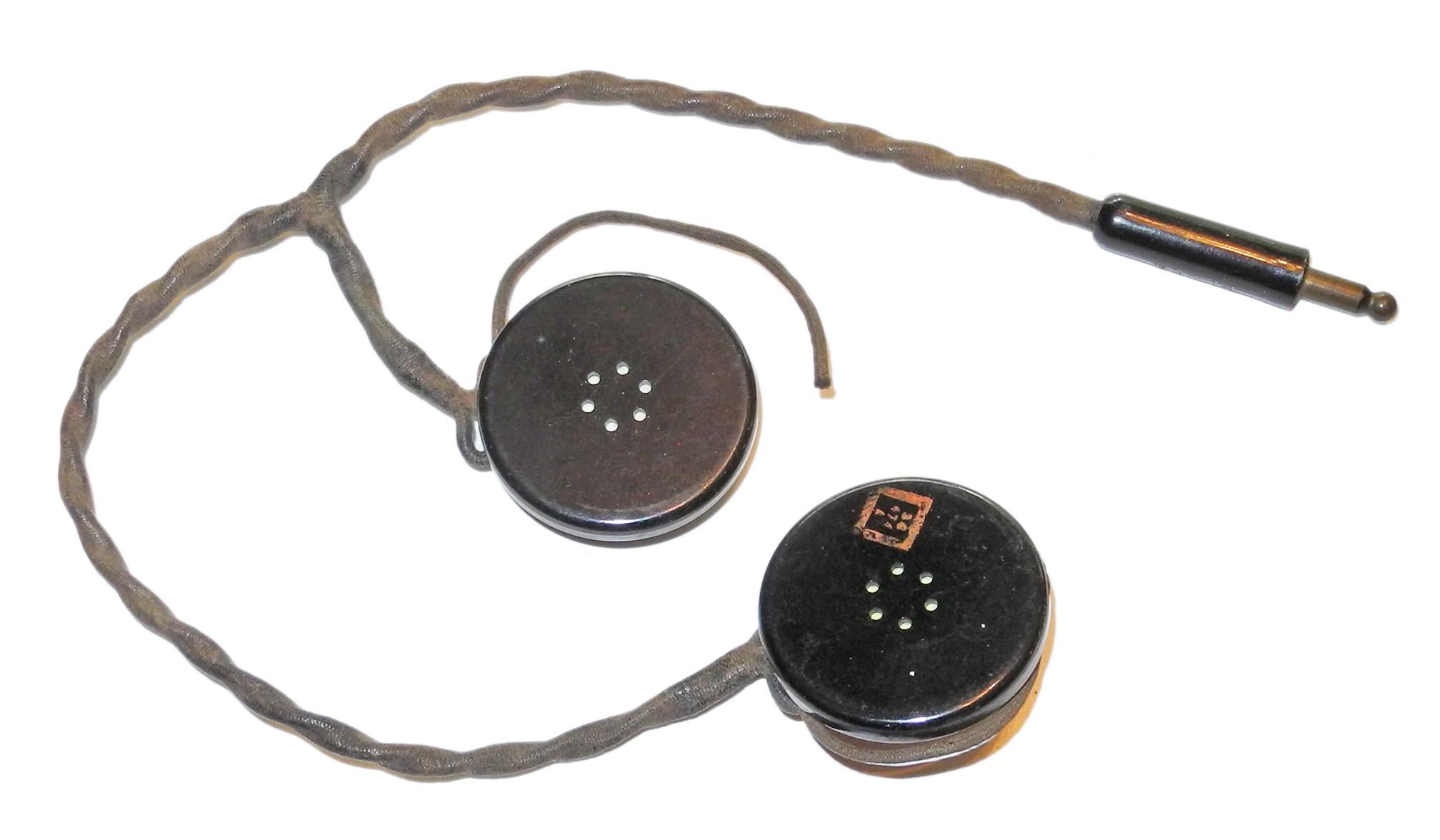 AAF HS-18 headset for flying helmet