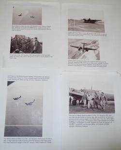 RAF 223 squadron log book $750