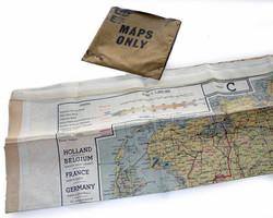 RAF escape purse + map C/E