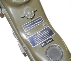 Cold War era German walkie-talkie