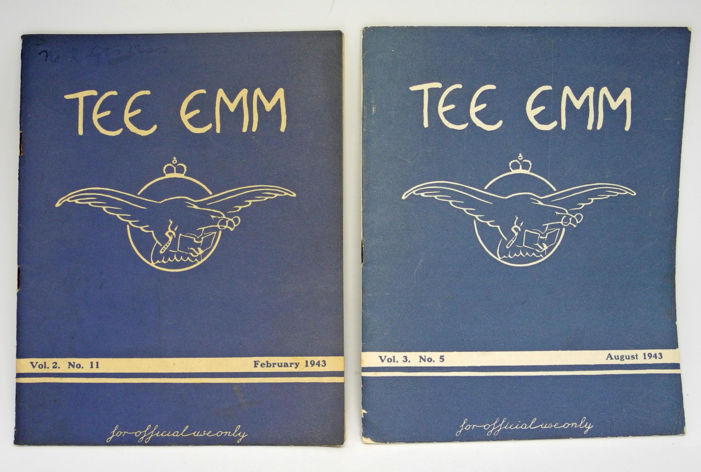 RAF TEE EMM x 2 1943