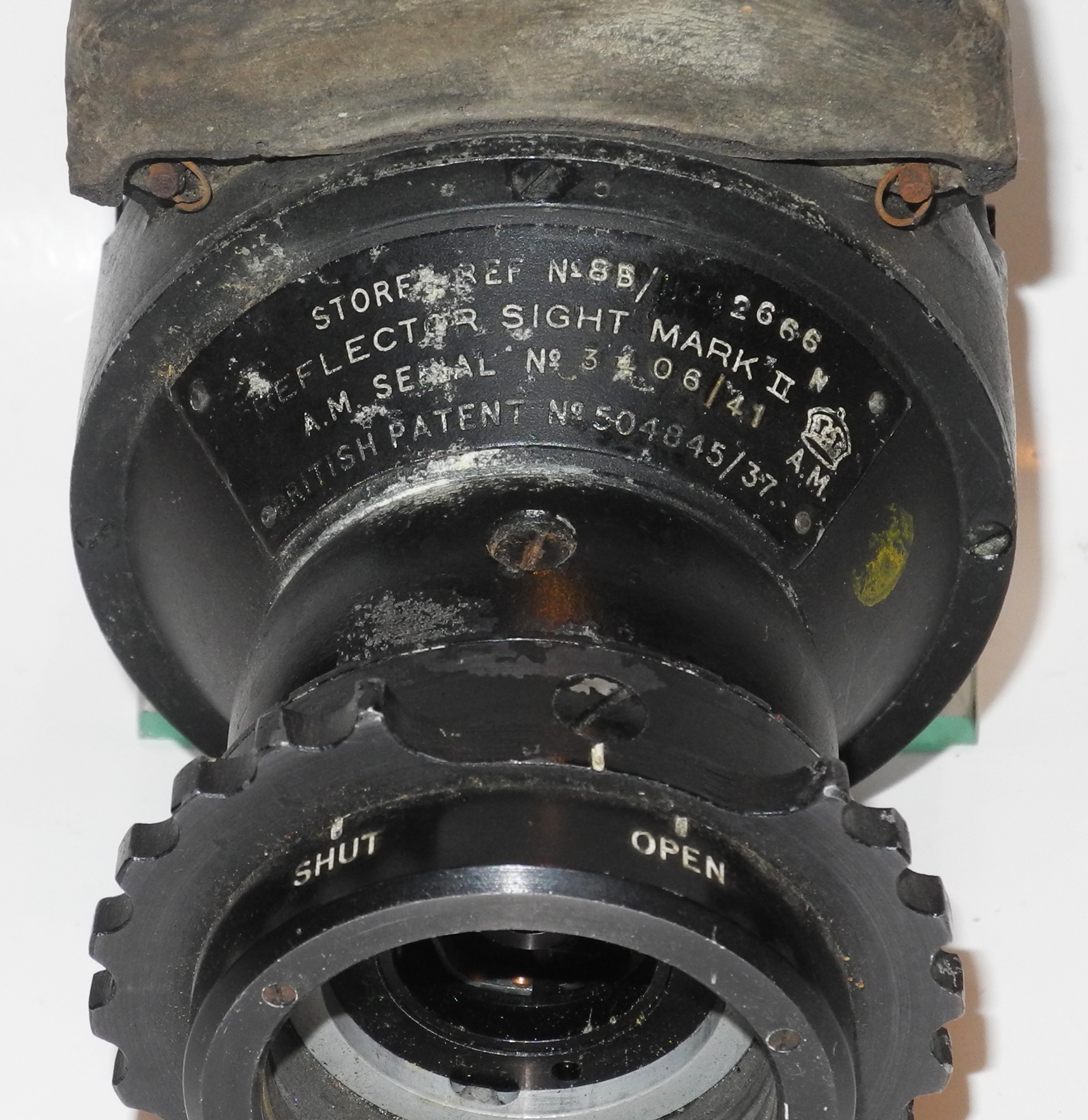 RAF Mk II Reflector Gunsight in transit case