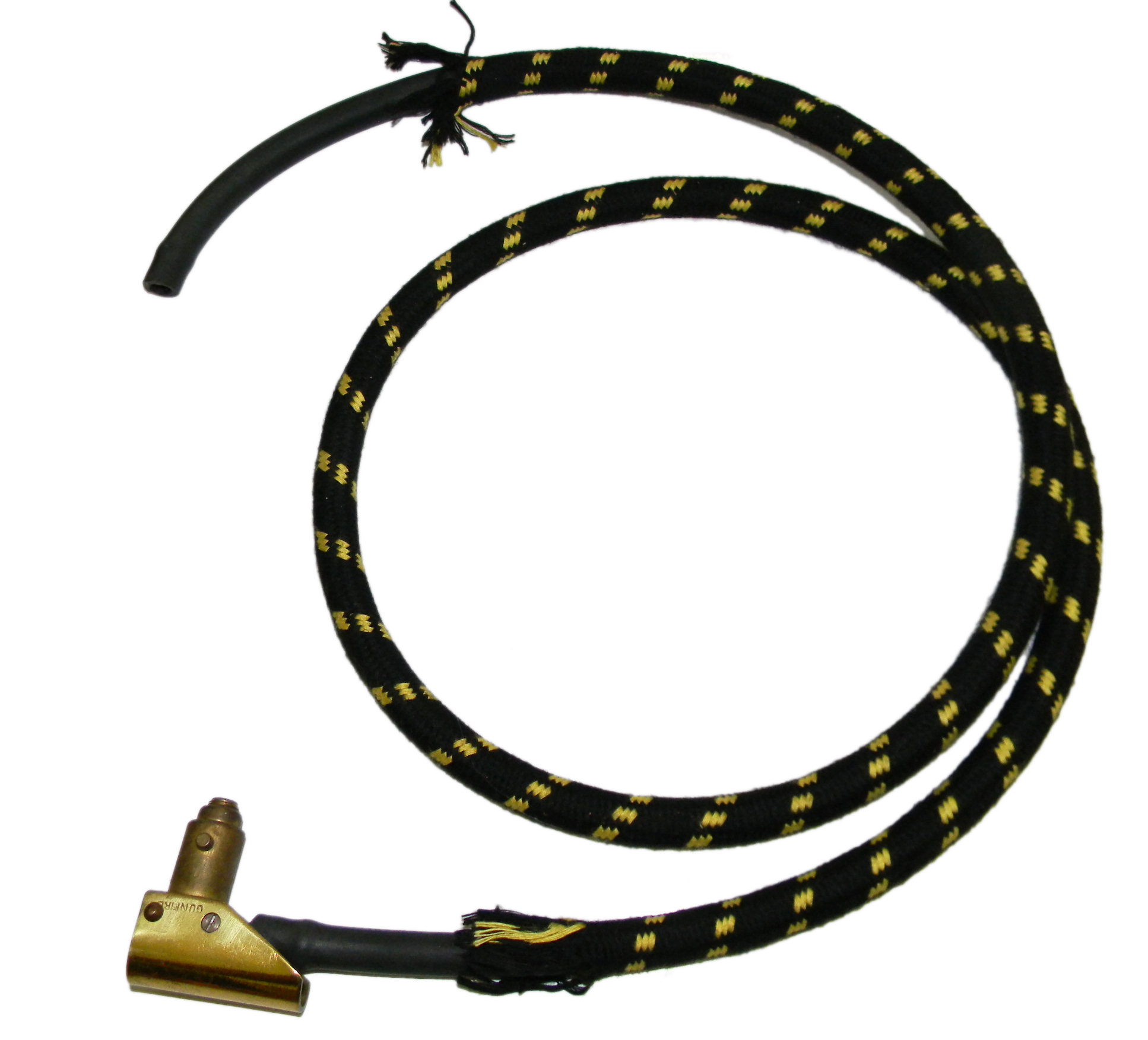 RAF Type D mask hose and connector