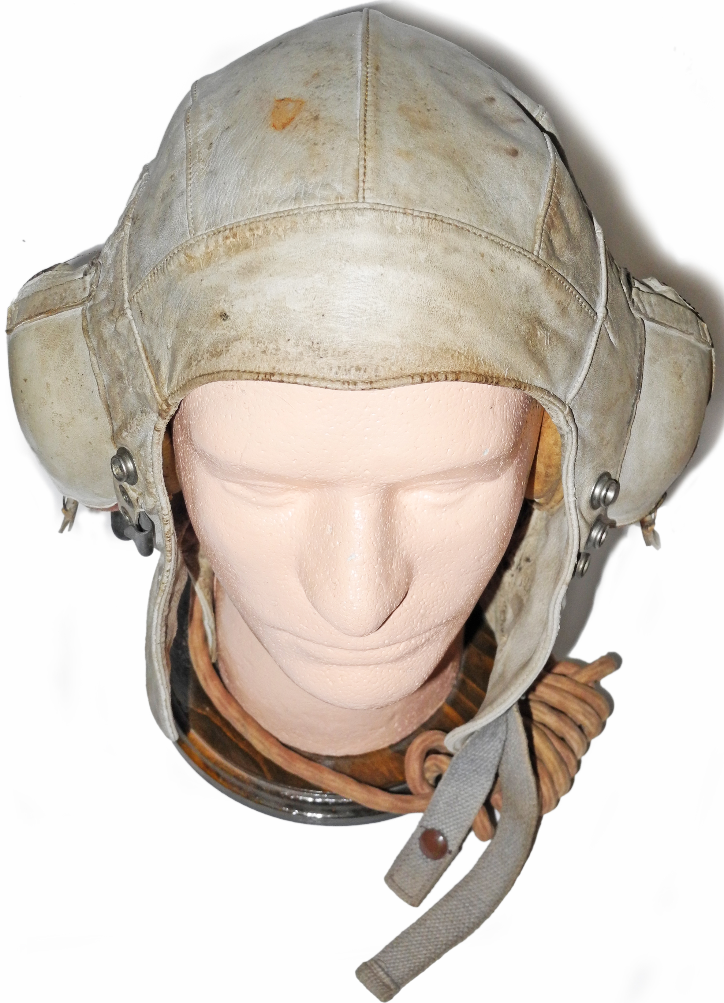 RN FAA white immersion suit helmet