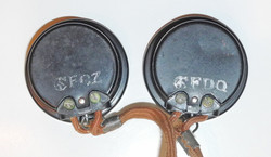 RCAF helmet wiring and receivers