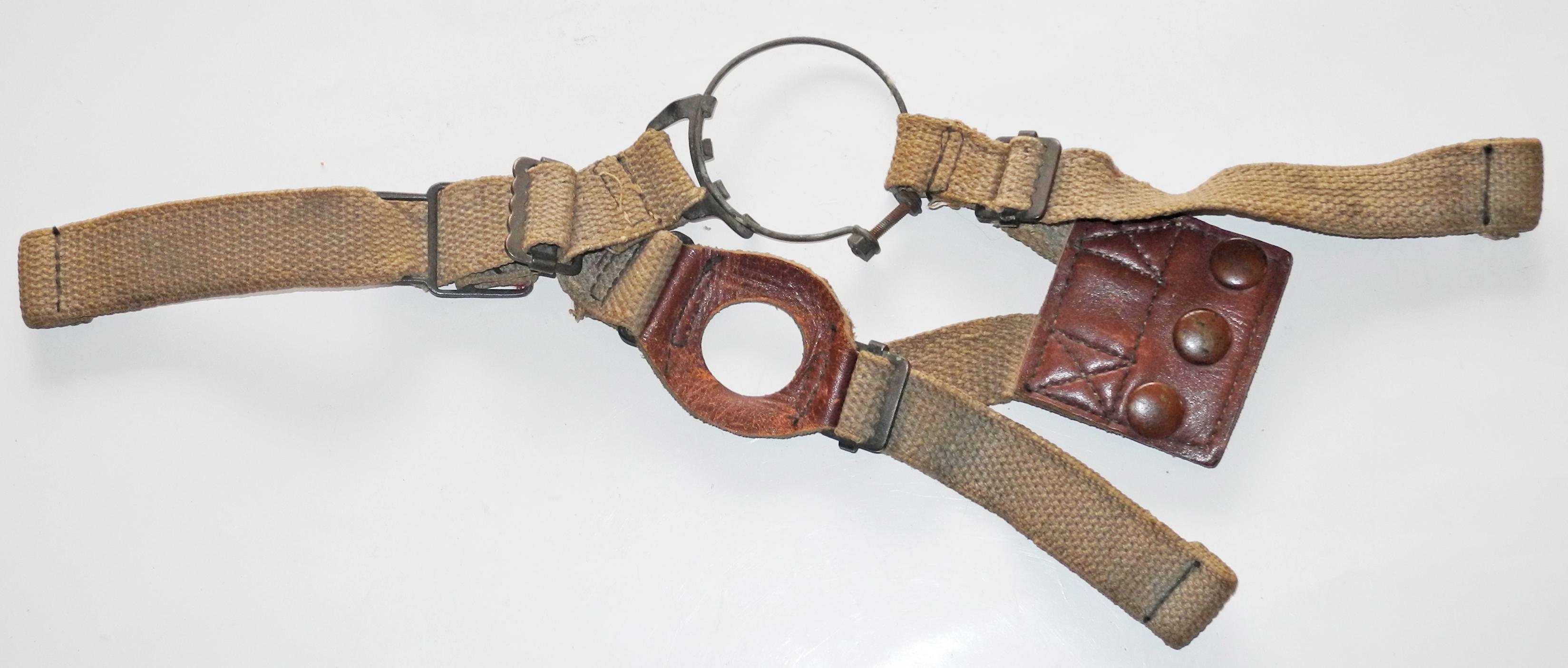 RAF Type E* Oxygen Mask harness.