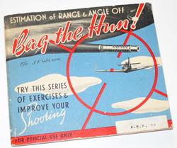 """RAF AP2580A Fighter Pilot training manual """"Bag the Hun!"""""""