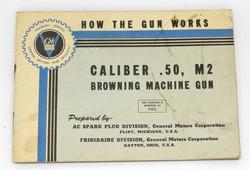 AAF .50 cal. machine gun booklet