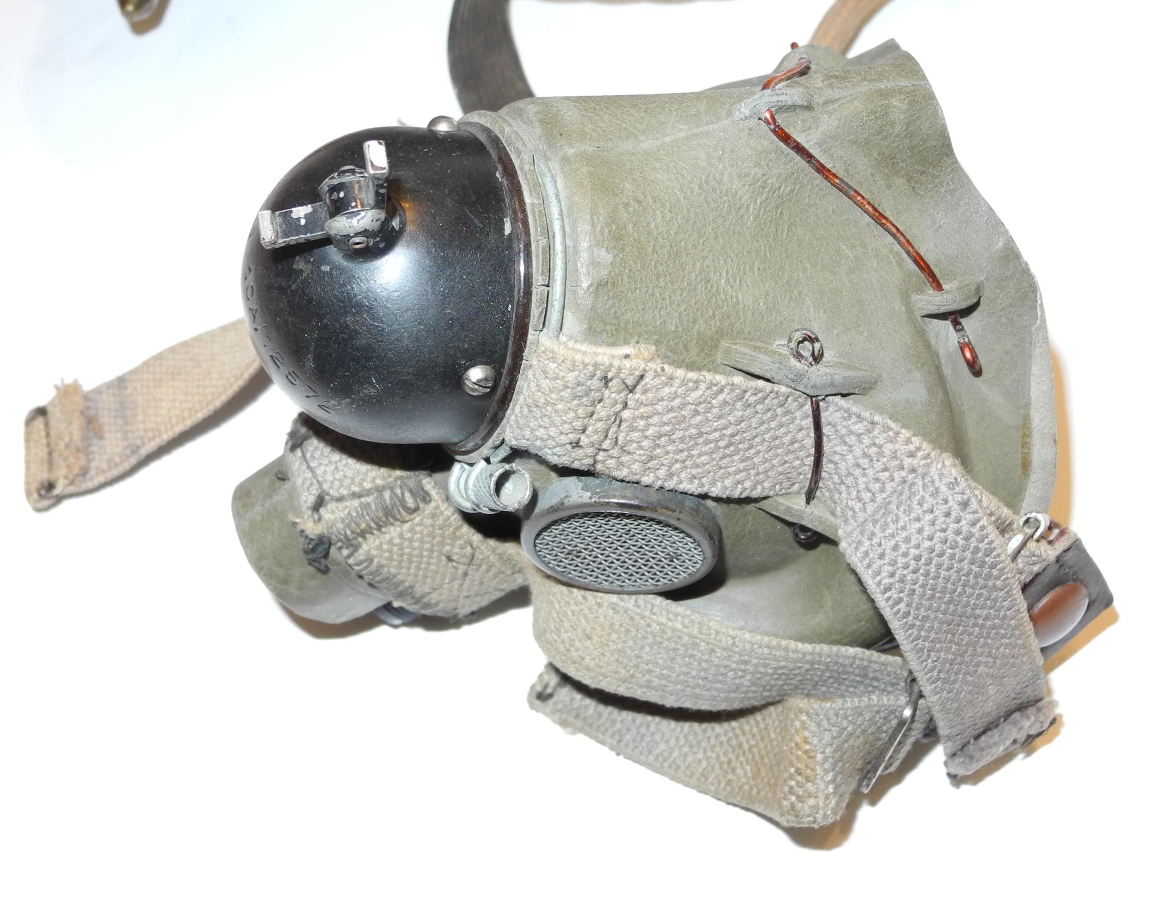 RAF Type B helmet + G mask