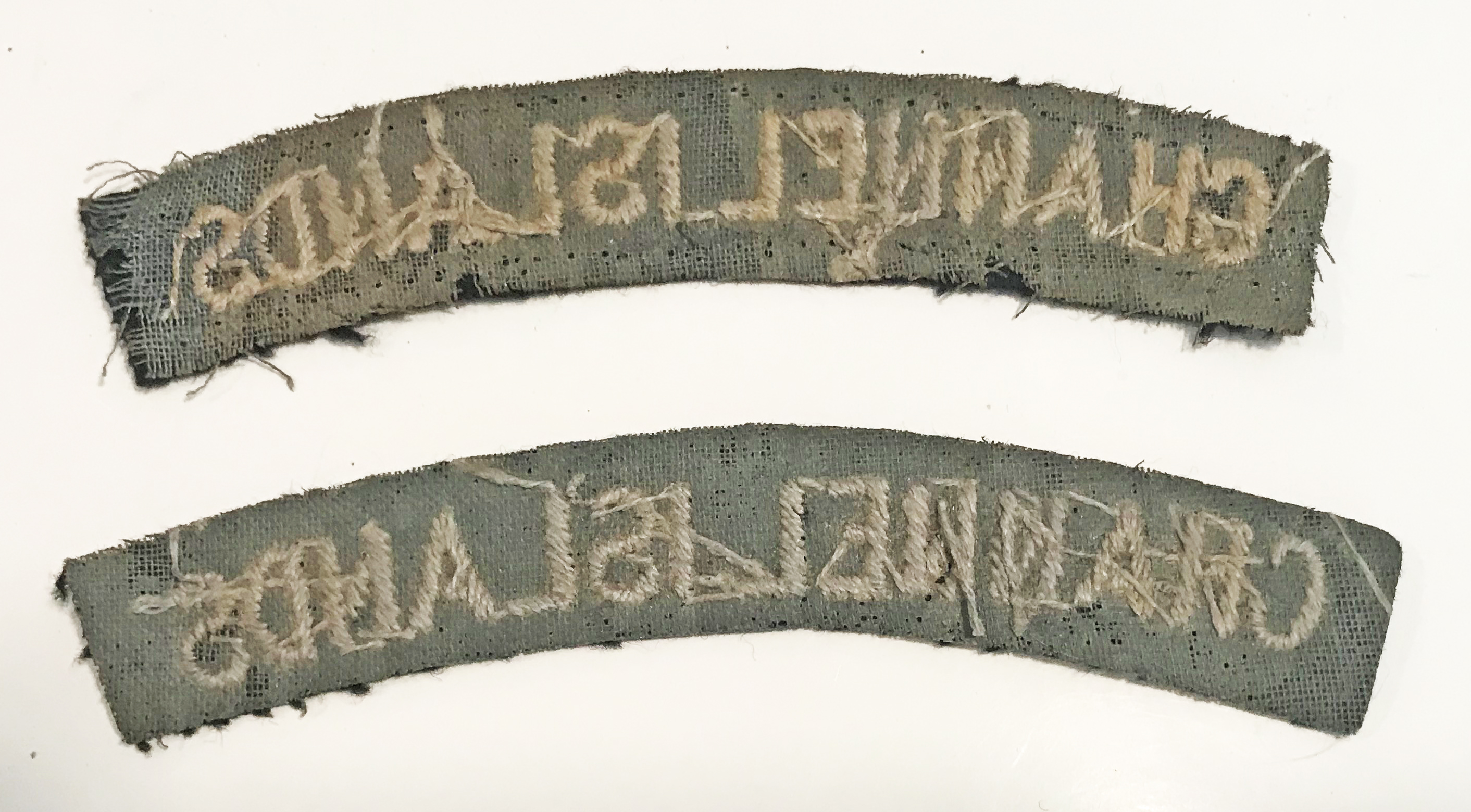 RAF Channel Islands shoulder titles