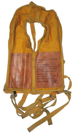 AAF WW2 B-5 life vest