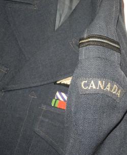 Late 1940s RCAF battle-dress blouse