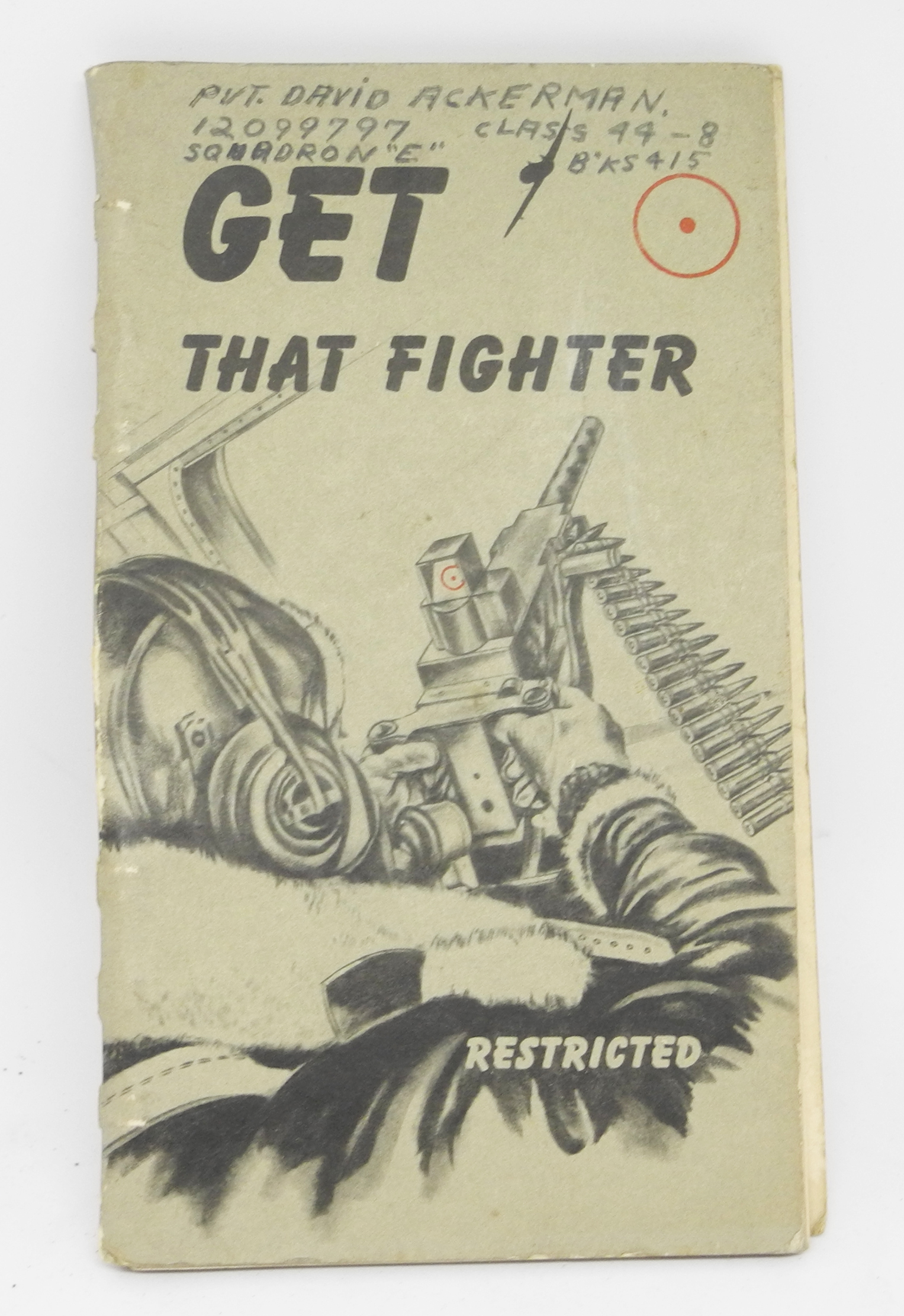 "AAF training book ""Get that Fighter"""